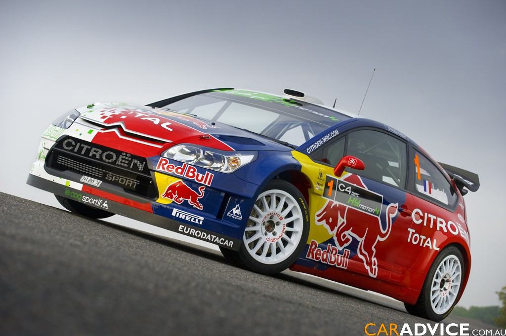Citroen Launches Hybrid Rally Car Photos 1 Of 6