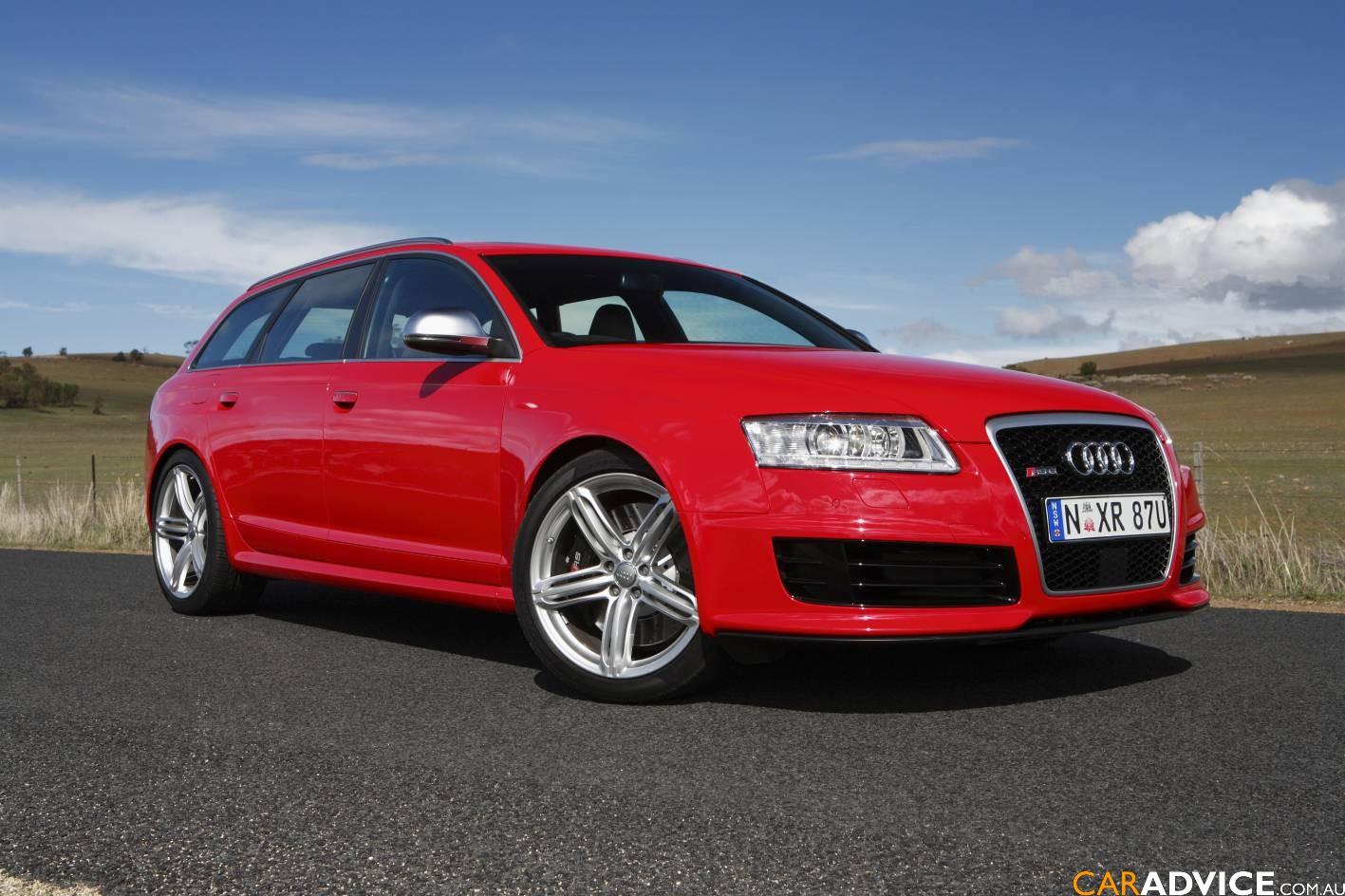 2009 audi rs 6 avant arrives down under photos 1 of 12. Black Bedroom Furniture Sets. Home Design Ideas