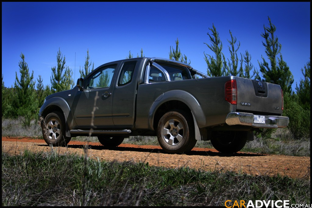 2008 nissan navara st x 4x4 king cab review caradvice. Black Bedroom Furniture Sets. Home Design Ideas