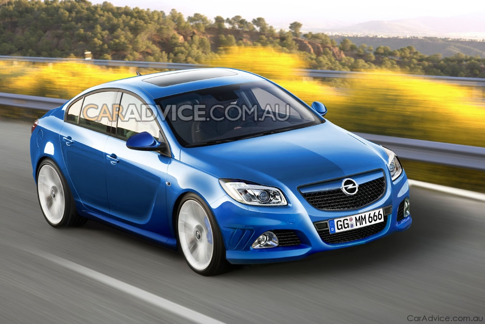 2009 opel insignia opc spied and rendered photos 1 of 6. Black Bedroom Furniture Sets. Home Design Ideas