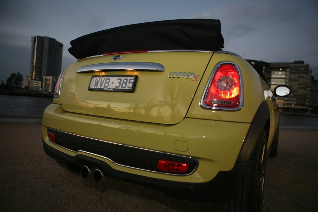 mini cooper cabrio review road test caradvice. Black Bedroom Furniture Sets. Home Design Ideas