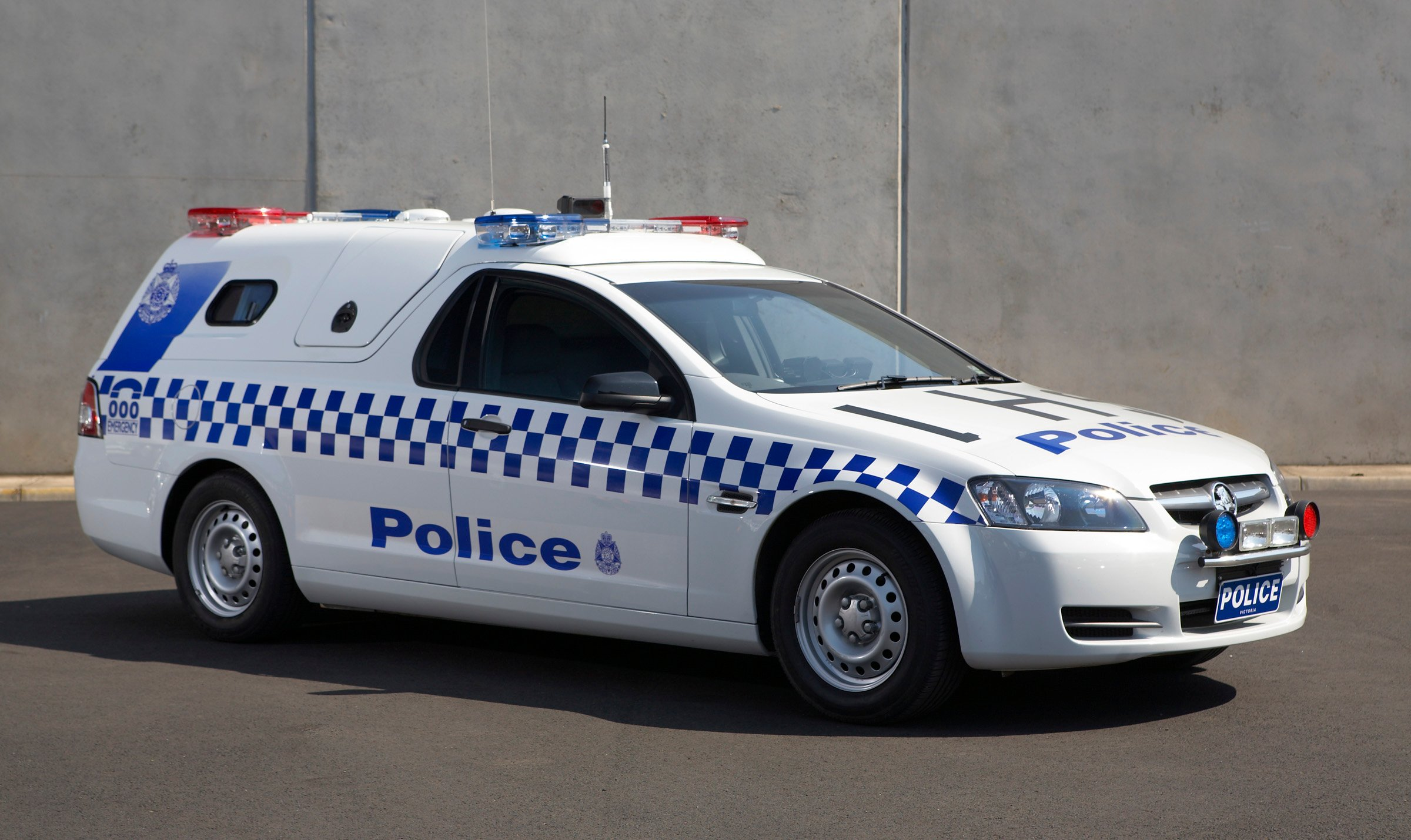 Holden launches new Divisional Van for Victoria Police - Photos (1 of 5)