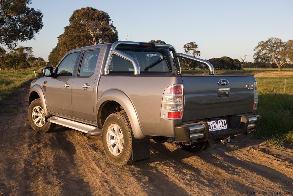 ford ranger review road test caradvice. Black Bedroom Furniture Sets. Home Design Ideas