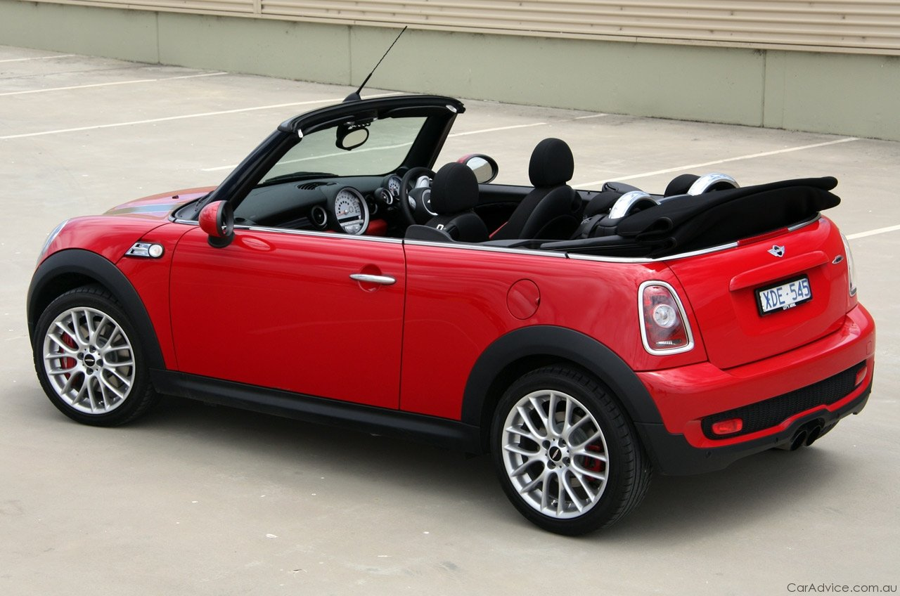 mini john cooper works cabrio review road test caradvice. Black Bedroom Furniture Sets. Home Design Ideas