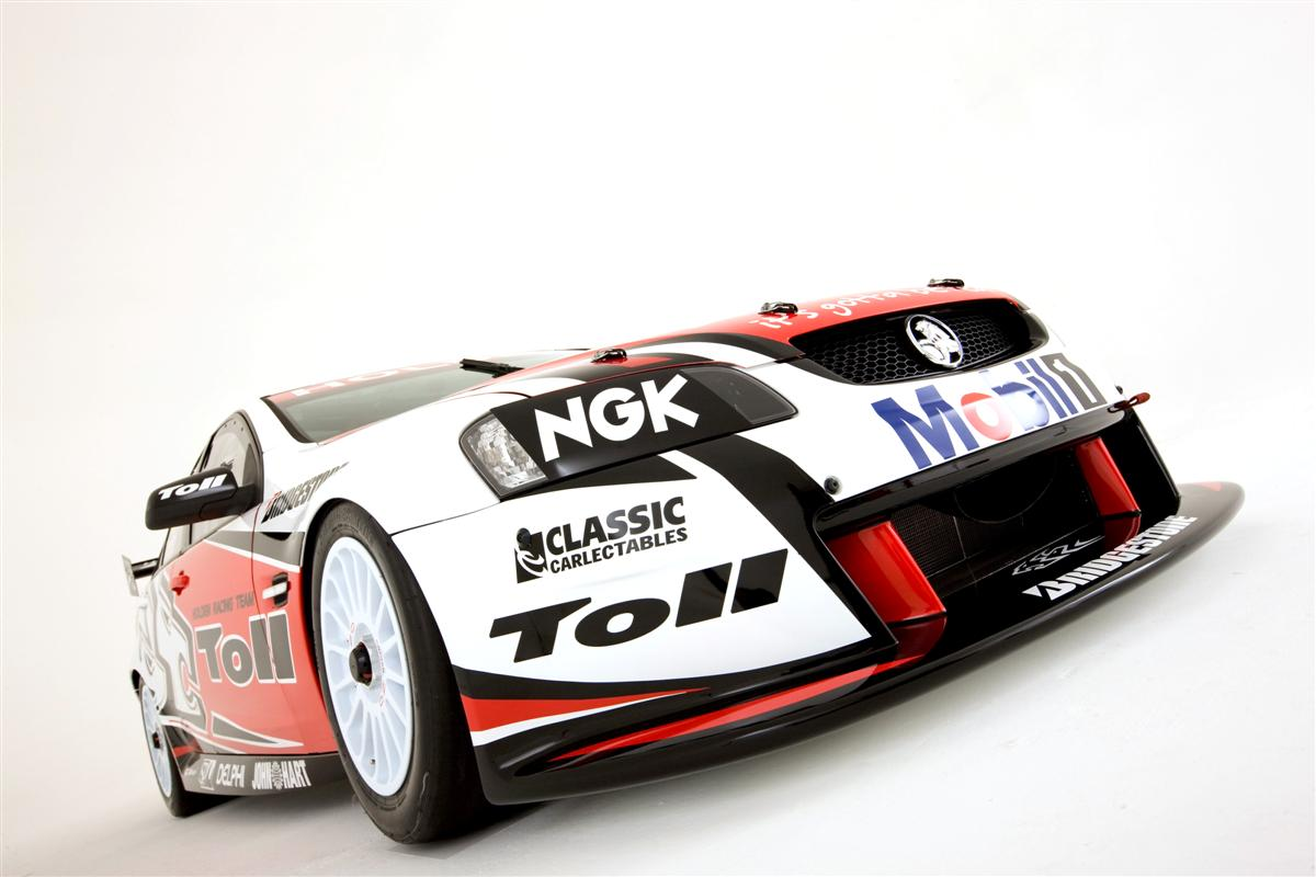 Toll Holden Racing Team Supercar Commodores Unveiled
