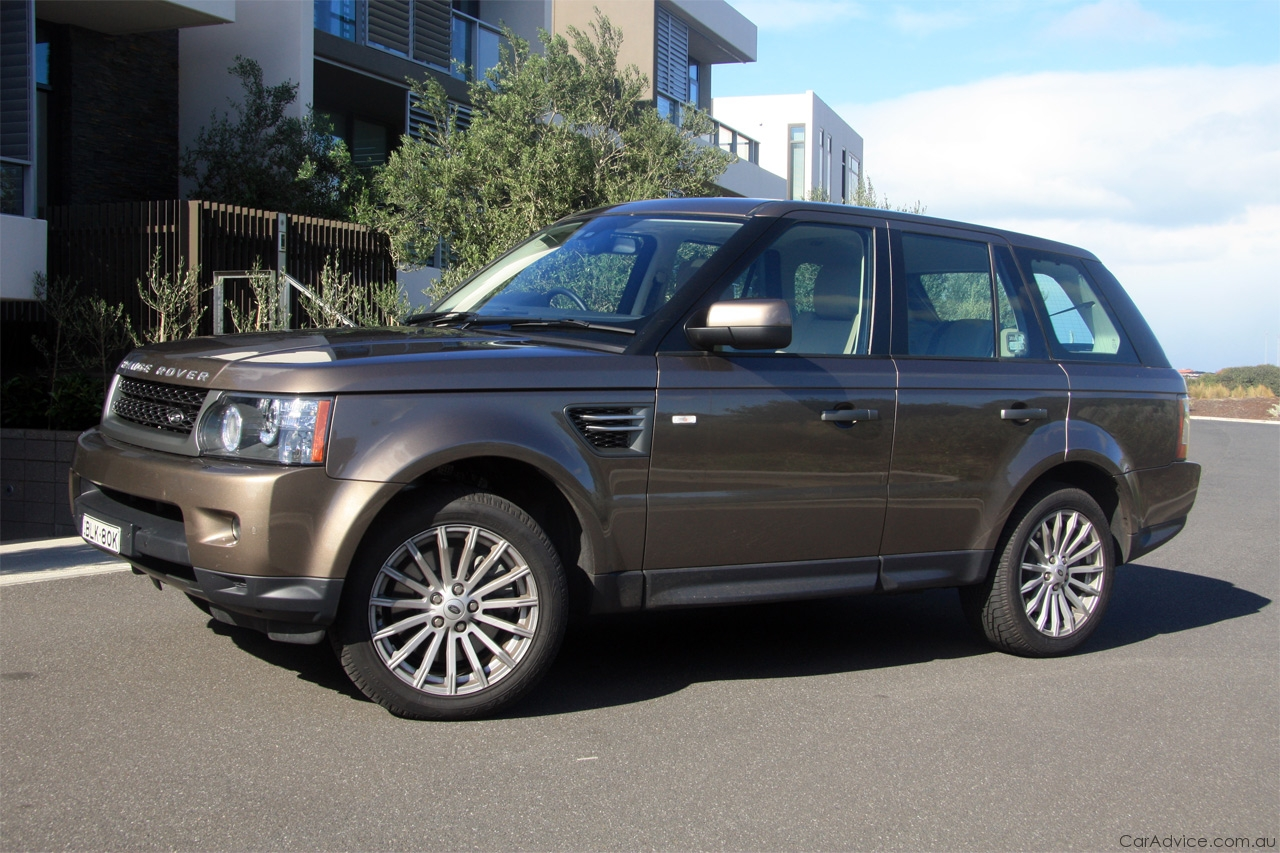 range rover sport review road test caradvice. Black Bedroom Furniture Sets. Home Design Ideas