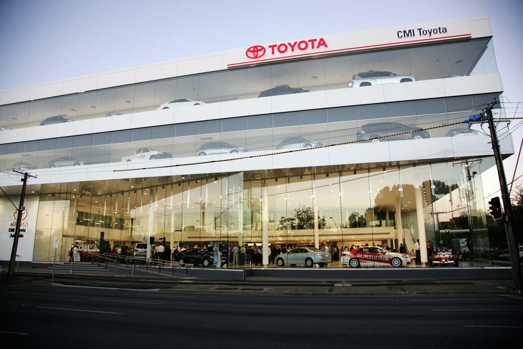 Toyotas New Adelaide Dealership Leads Future Customer