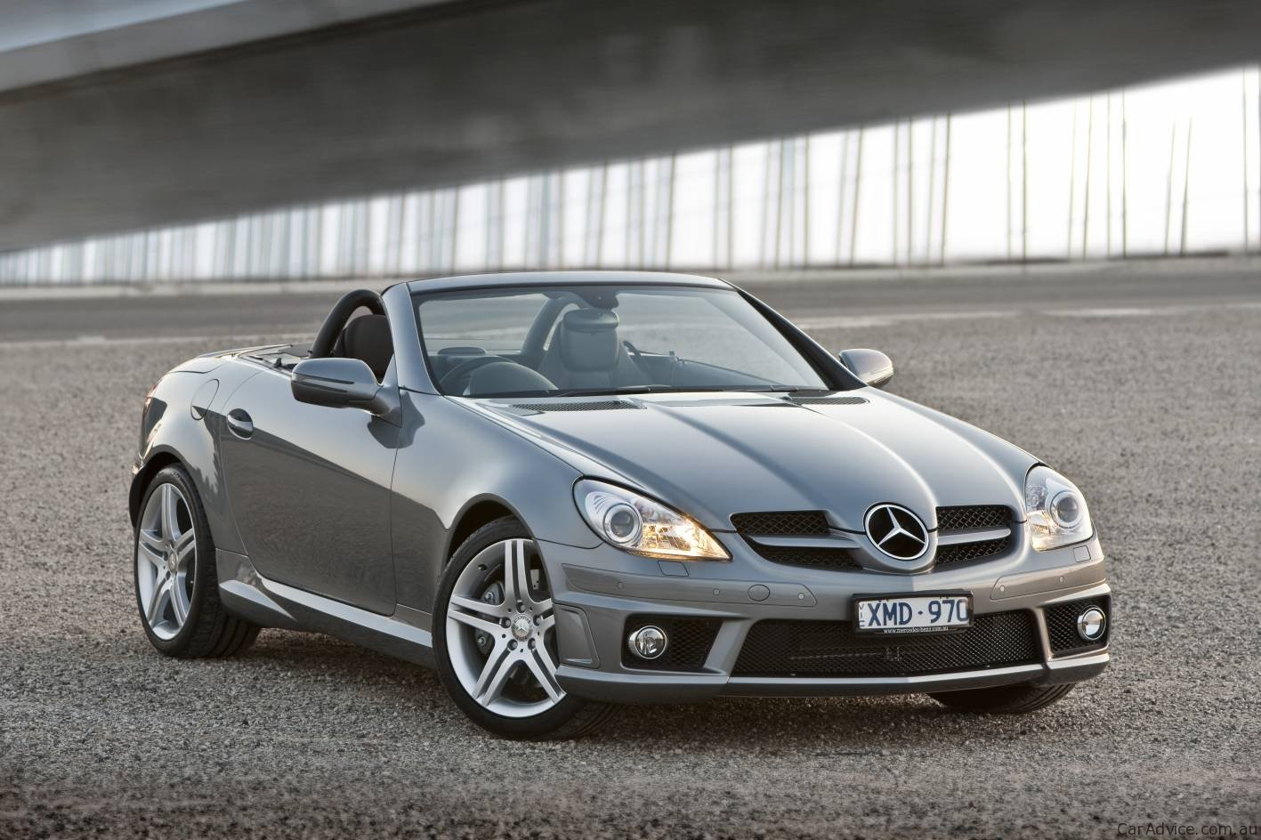 2010 mercedes benz slk 300 roadster introduced fourth