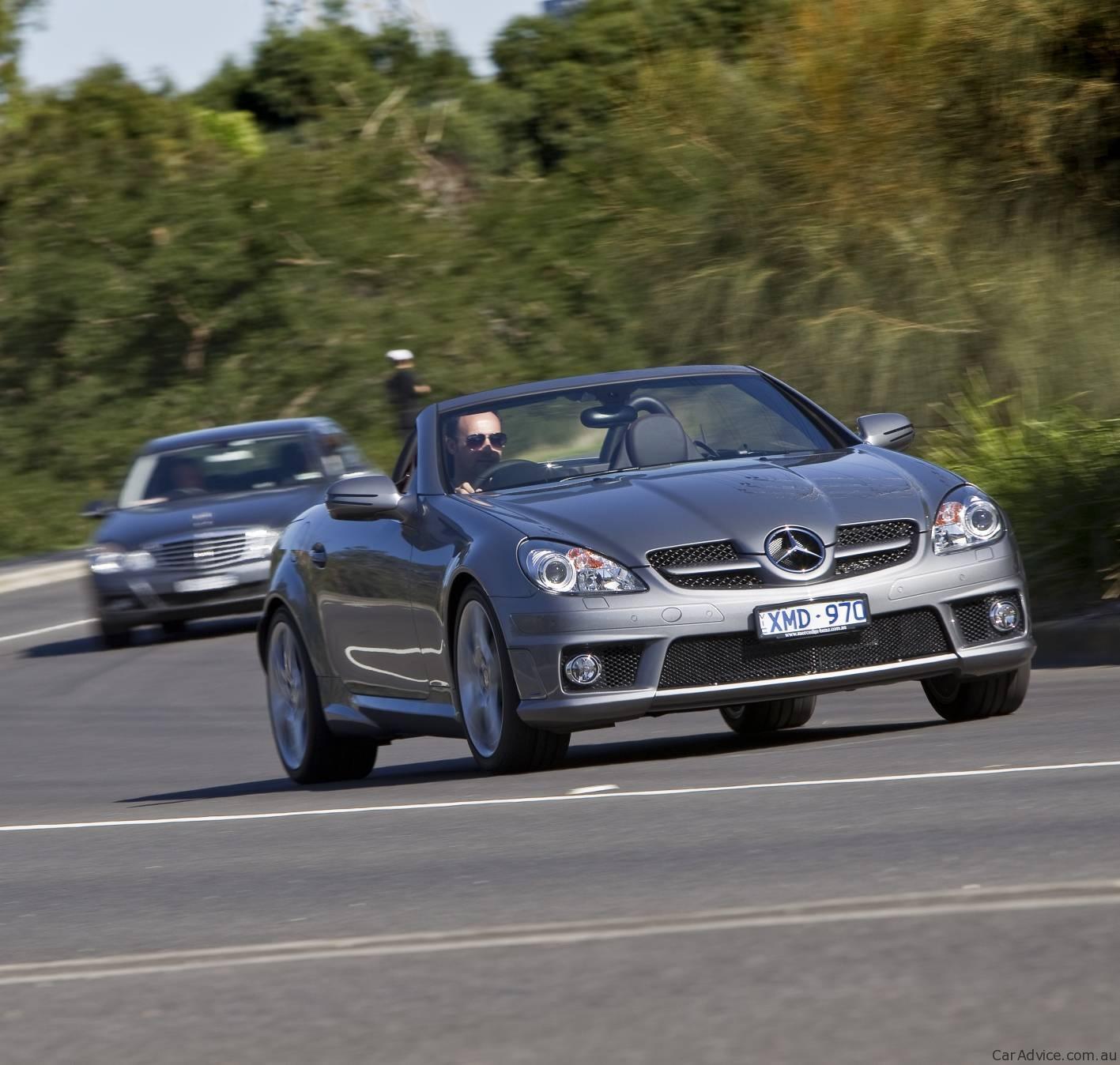 2010 mercedes benz slk 300 roadster introduced fourth model in range