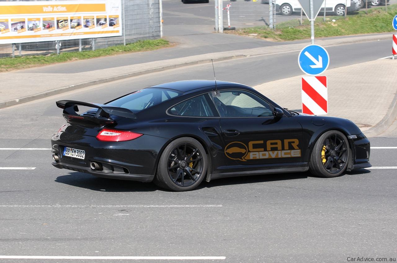 2012 porsche 911 gt2 spy photos testing at n rburgring photos 1 of 7. Black Bedroom Furniture Sets. Home Design Ideas