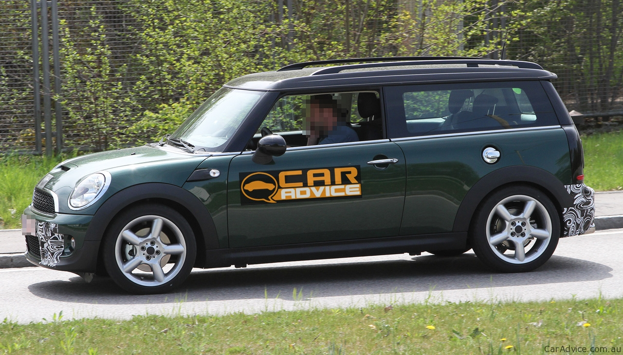 2011 Mini Clubman Mini Cooper Spy Photos Photos 1 Of 9