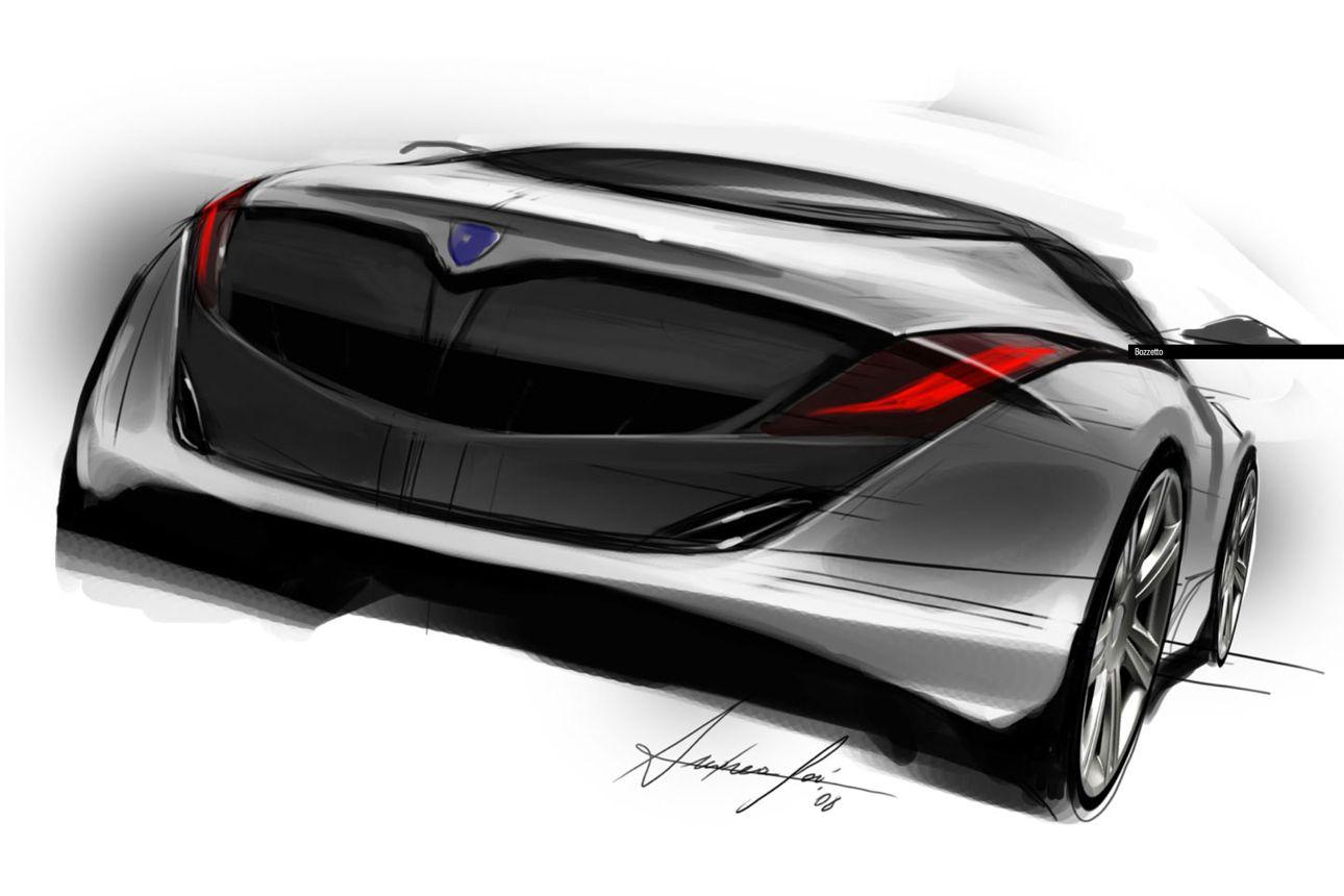 Toyota Large Suv >> Lancia design sketches - Photos (1 of 11)