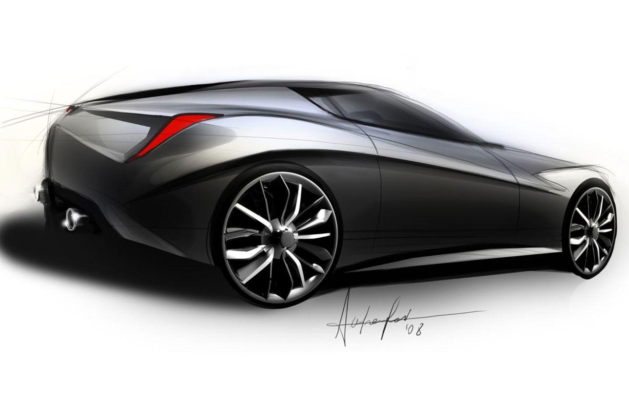 2010 Toyota Corolla S >> Lancia design sketches - Photos (1 of 11)