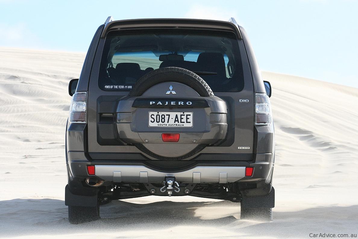 Mitsubishi Pajero Review Amp Road Test Caradvice