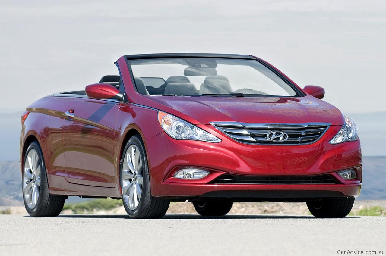 2011 Hyundai I45 Convertible Speculation Photos 1 Of 4