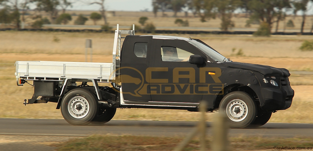 Ford ranger for sale in australia - 2012 Ford Ranger T6 Cab Chassis Spy Photos