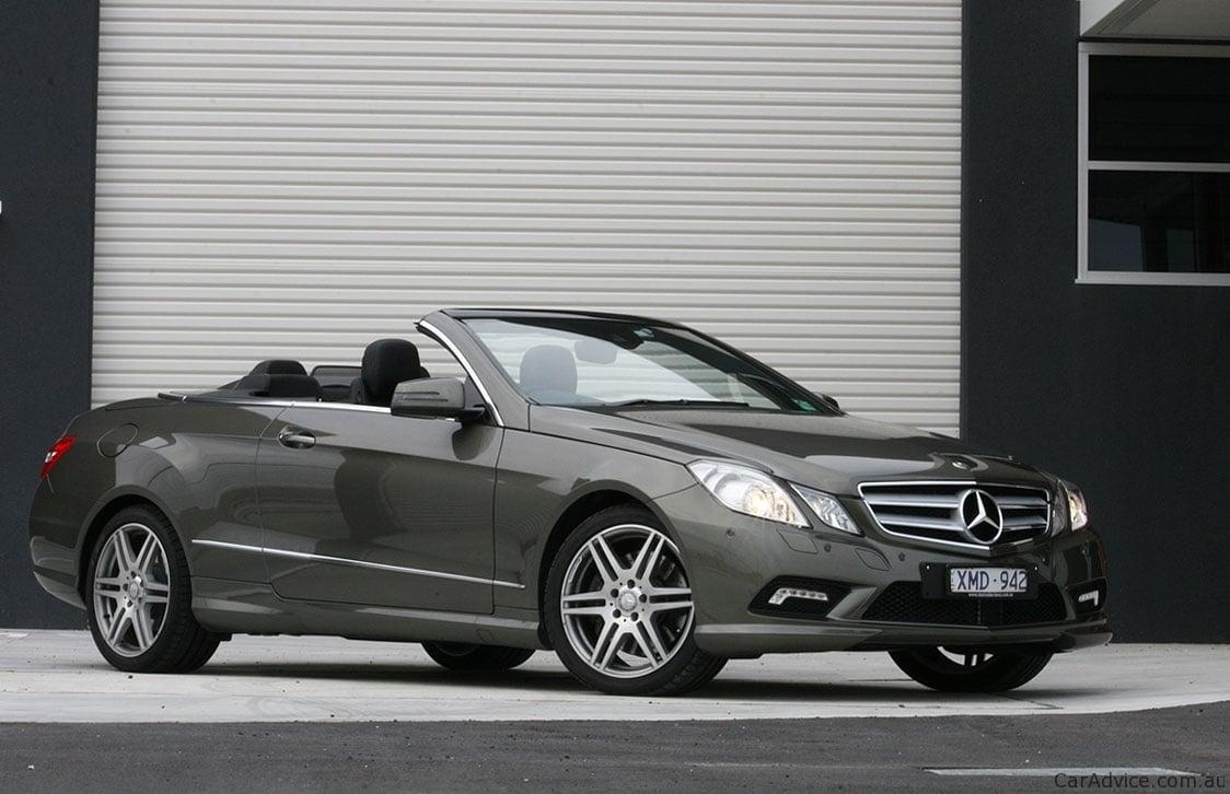 Mercedes benz e class cabriolet review caradvice for Cabriolet mercedes benz