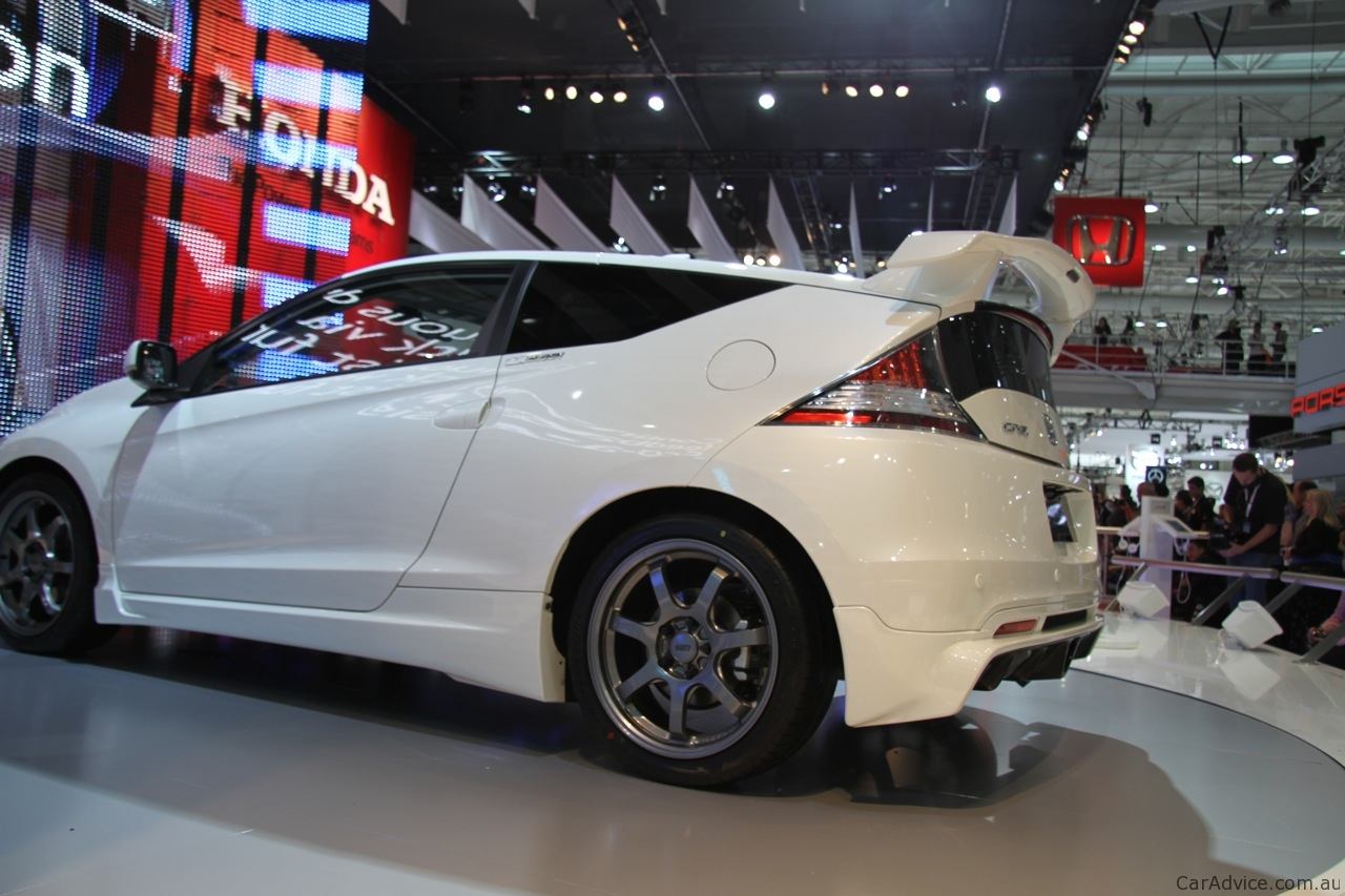 honda cr z at 2010 aims photos 1 of 12. Black Bedroom Furniture Sets. Home Design Ideas