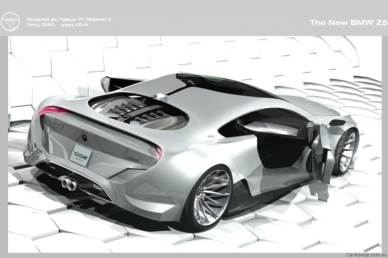 Bmw Z5 Concept Design Study Photos 1 Of 9