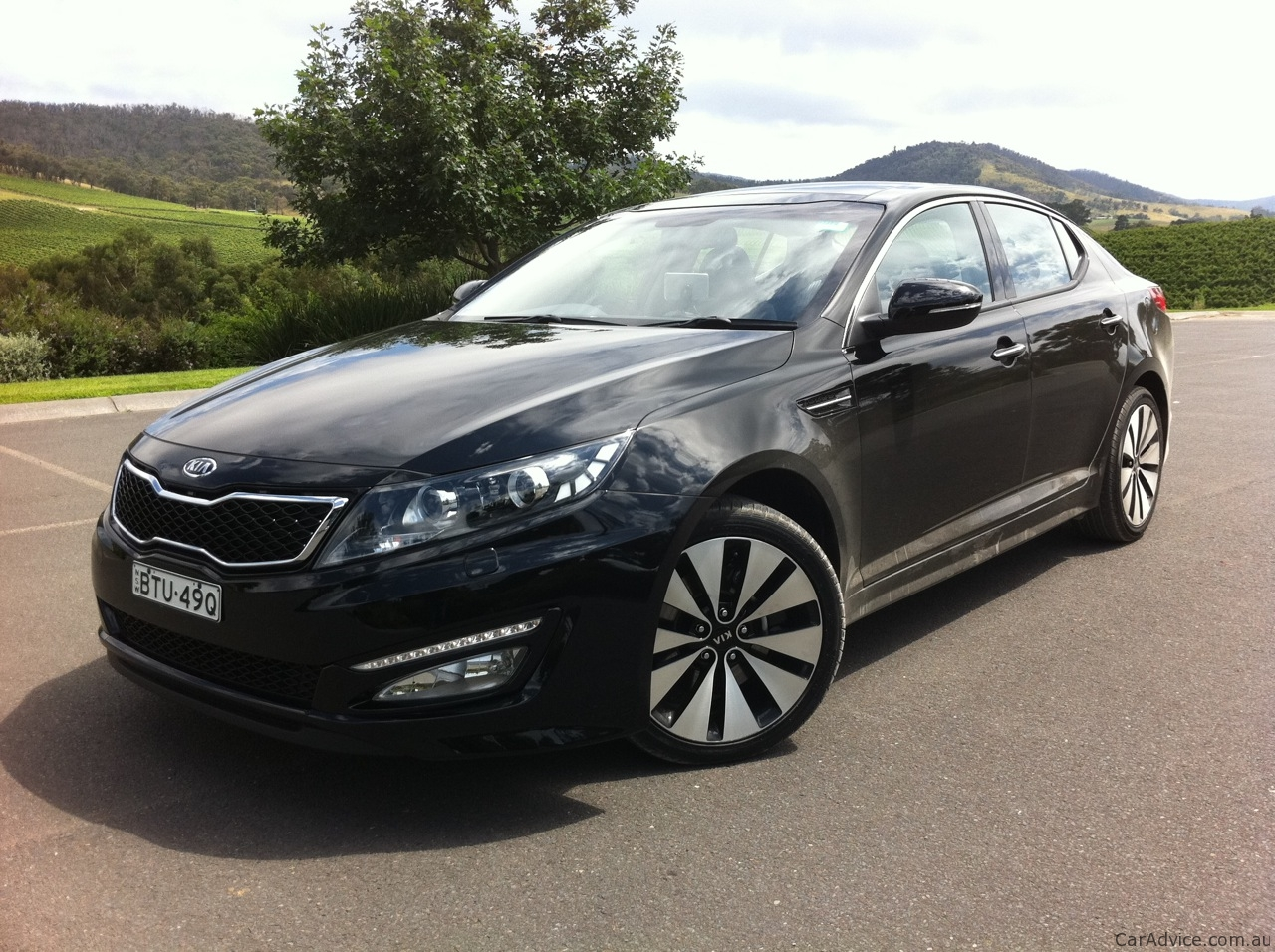 Kia Optima Review Caradvice