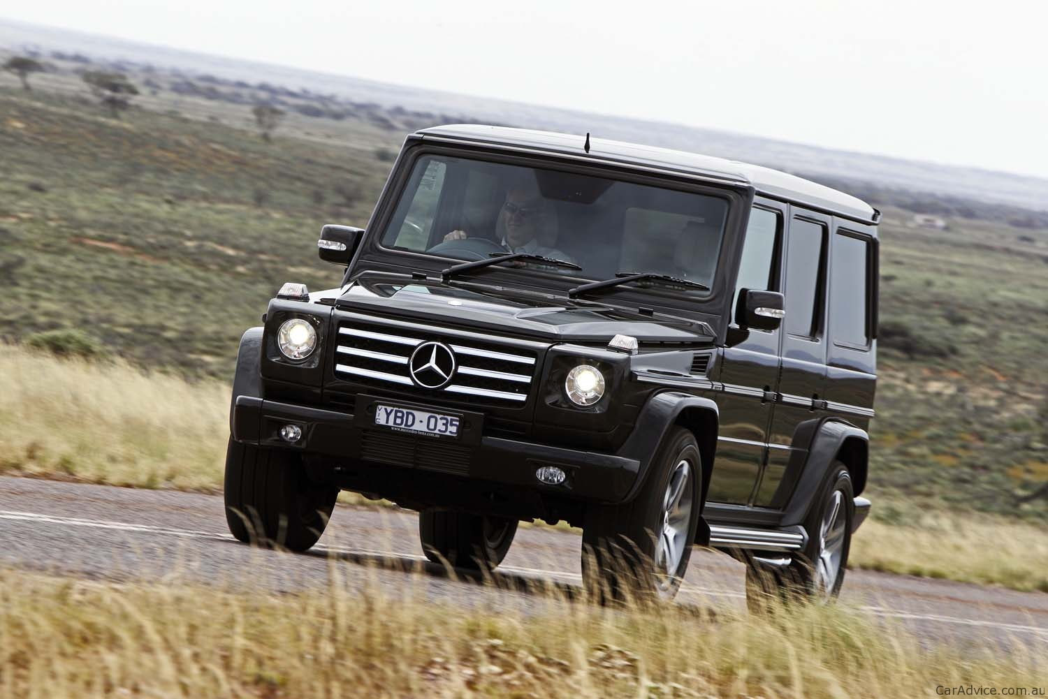 Mercedes Benz G55 Amg Amp G350 Review Caradvice
