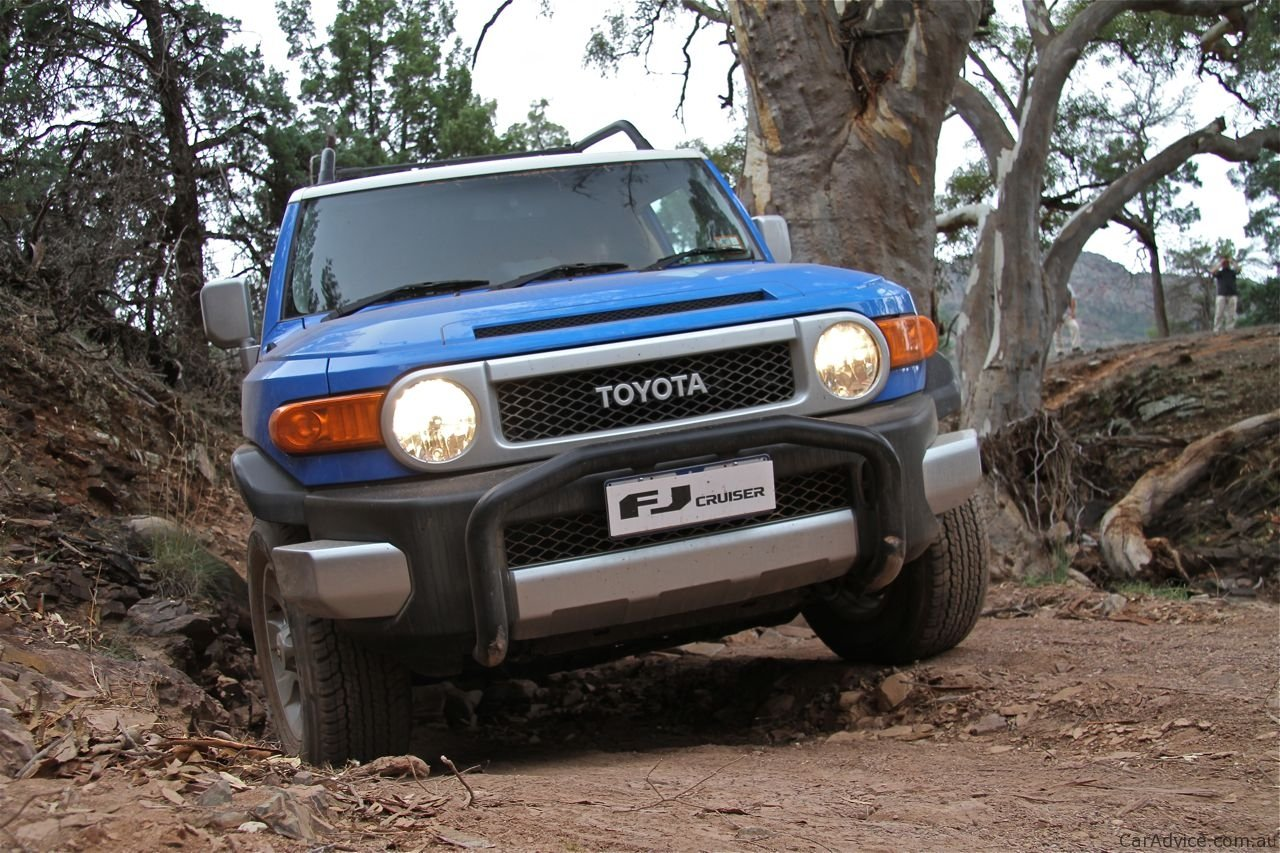 Toyota Land Cruiser Prado off road #10