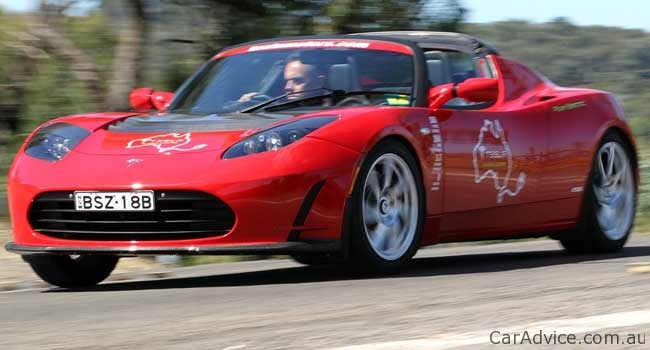 tesla roadster sport 2 5 review caradvice