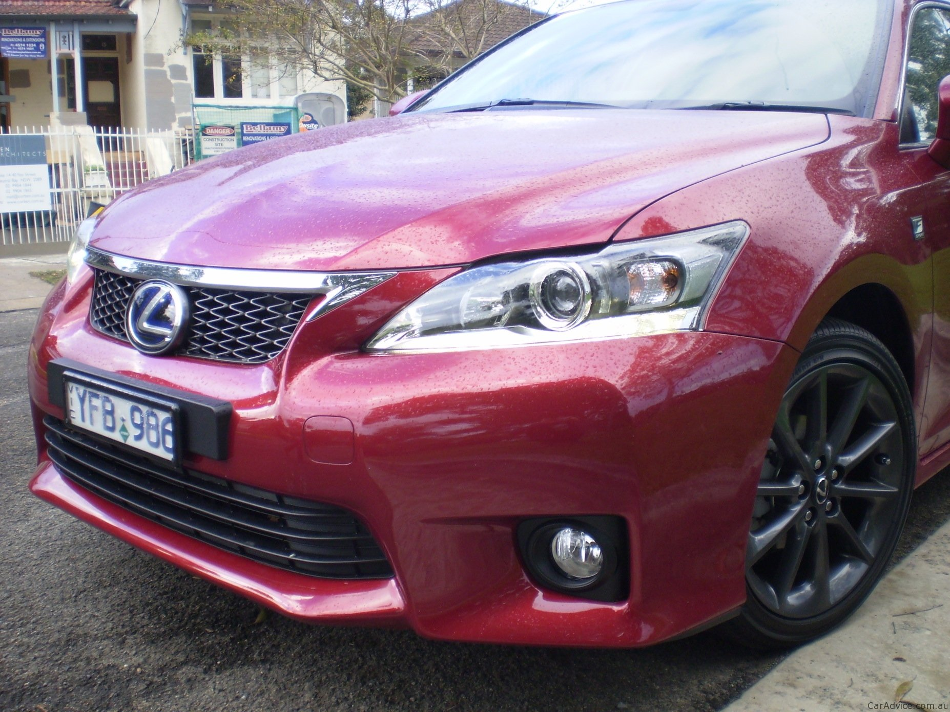 lexus ct 200h f sport review caradvice autos post. Black Bedroom Furniture Sets. Home Design Ideas