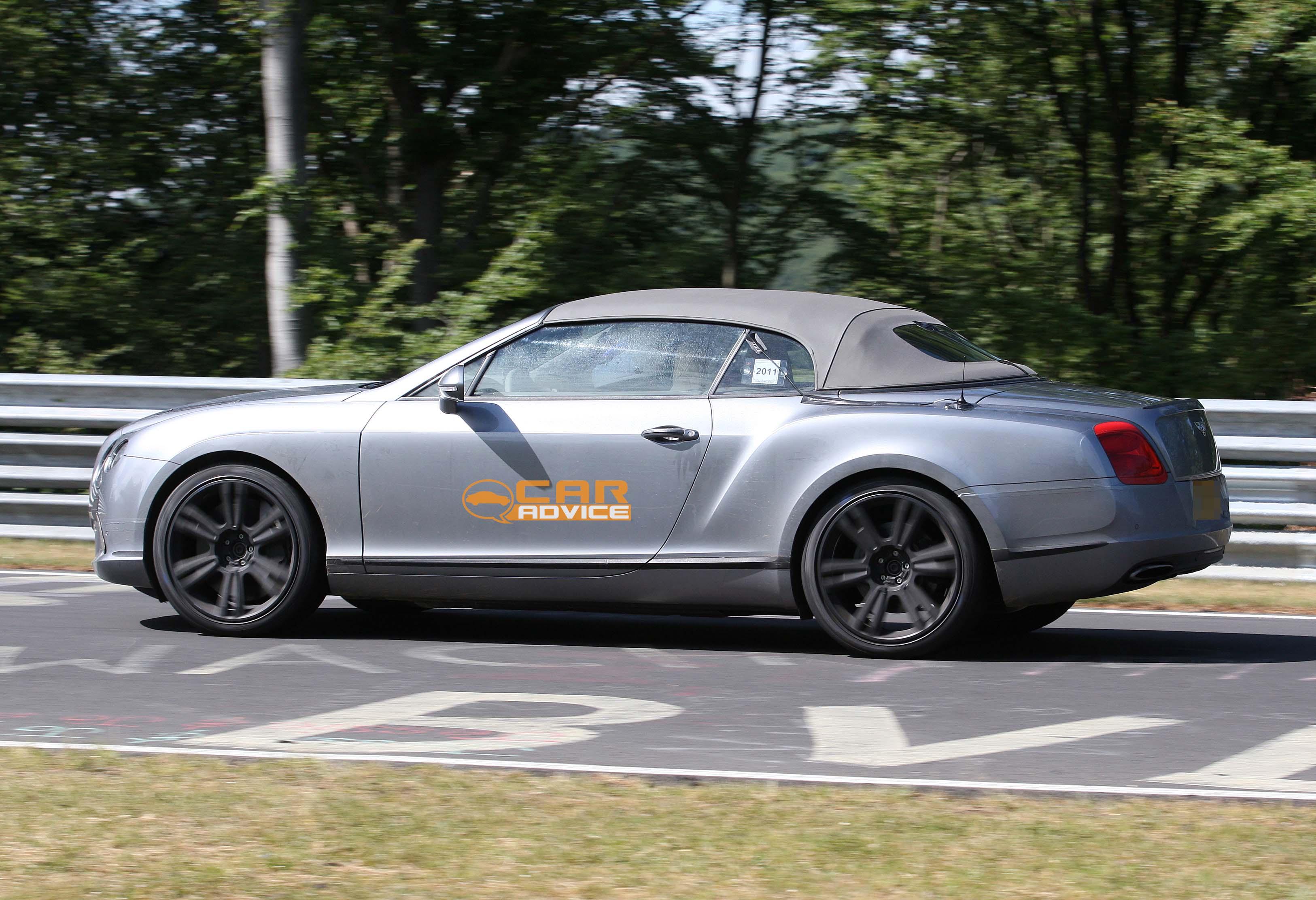 2012 bentley continental gtc spy shots at nurburgring photos 1 of 5. Black Bedroom Furniture Sets. Home Design Ideas