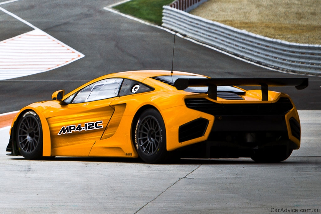 mclaren mp4 12c gt3 details and price announced photos 1 of 6. Black Bedroom Furniture Sets. Home Design Ideas