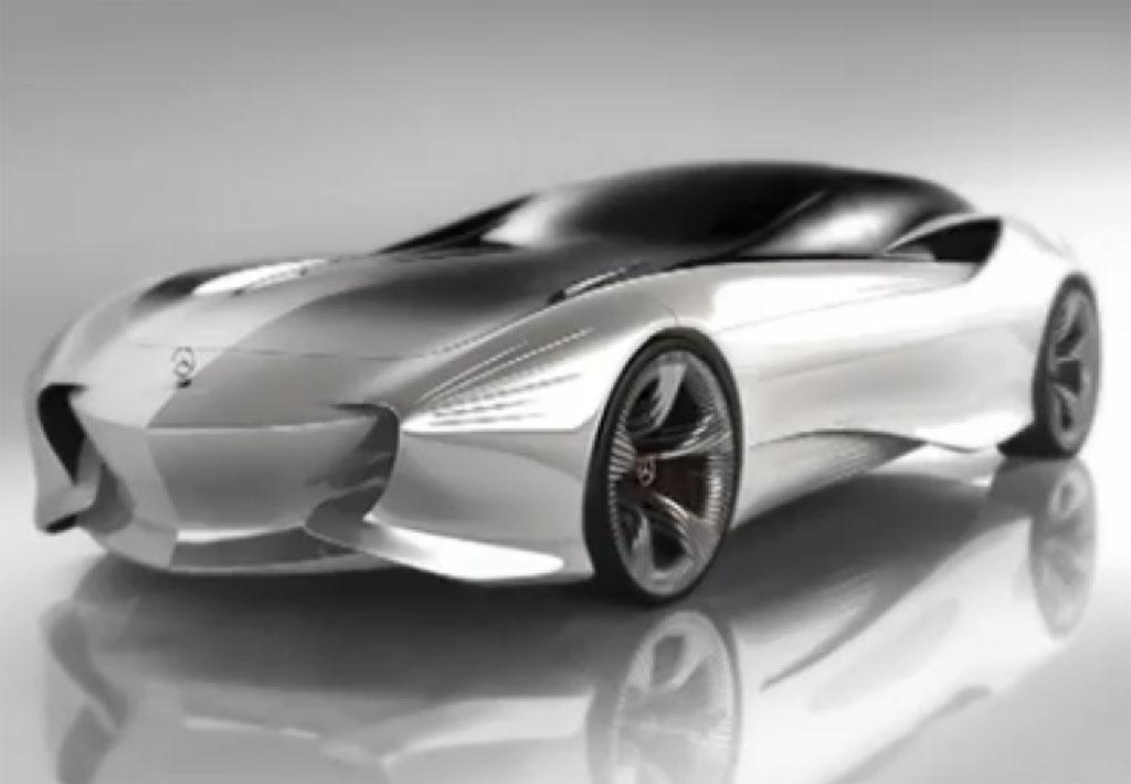 2030 Mercedes Benz Aria Concept Design Study Photos 1 Of 4