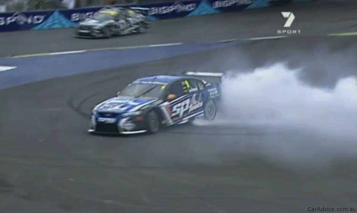 Video V8 Supercars Ban Post Race Burnouts Photos 1 Of 1