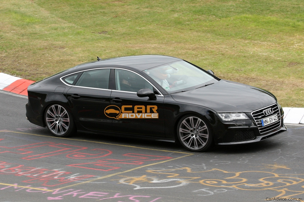 2012 Audi S7 Spied On The Nurburgring Photos 1 Of 7