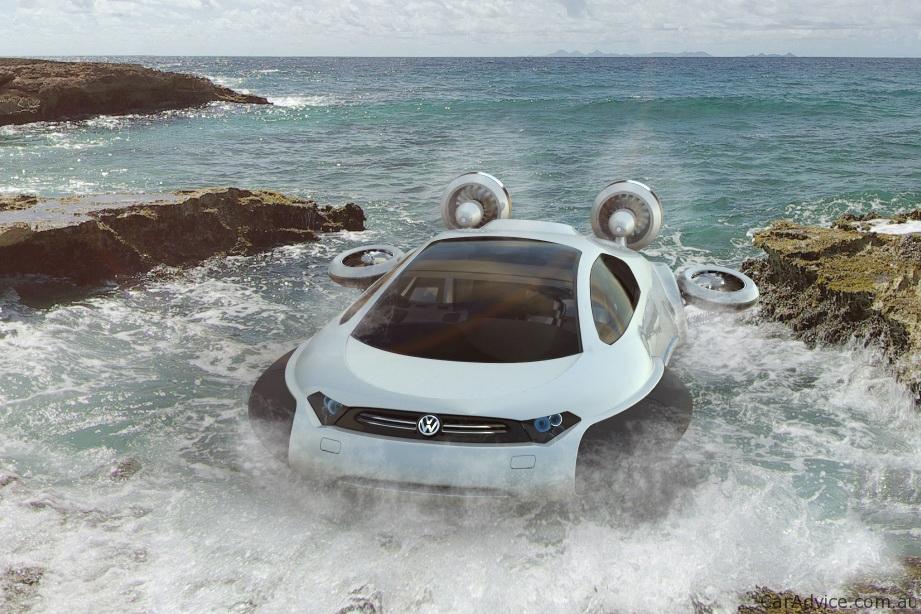volkswagen aqua concept hovercraft  zhang yuhan
