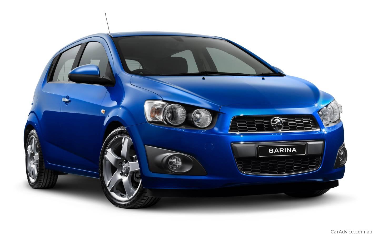 2012 Holden Barina At Australian International Motor Show