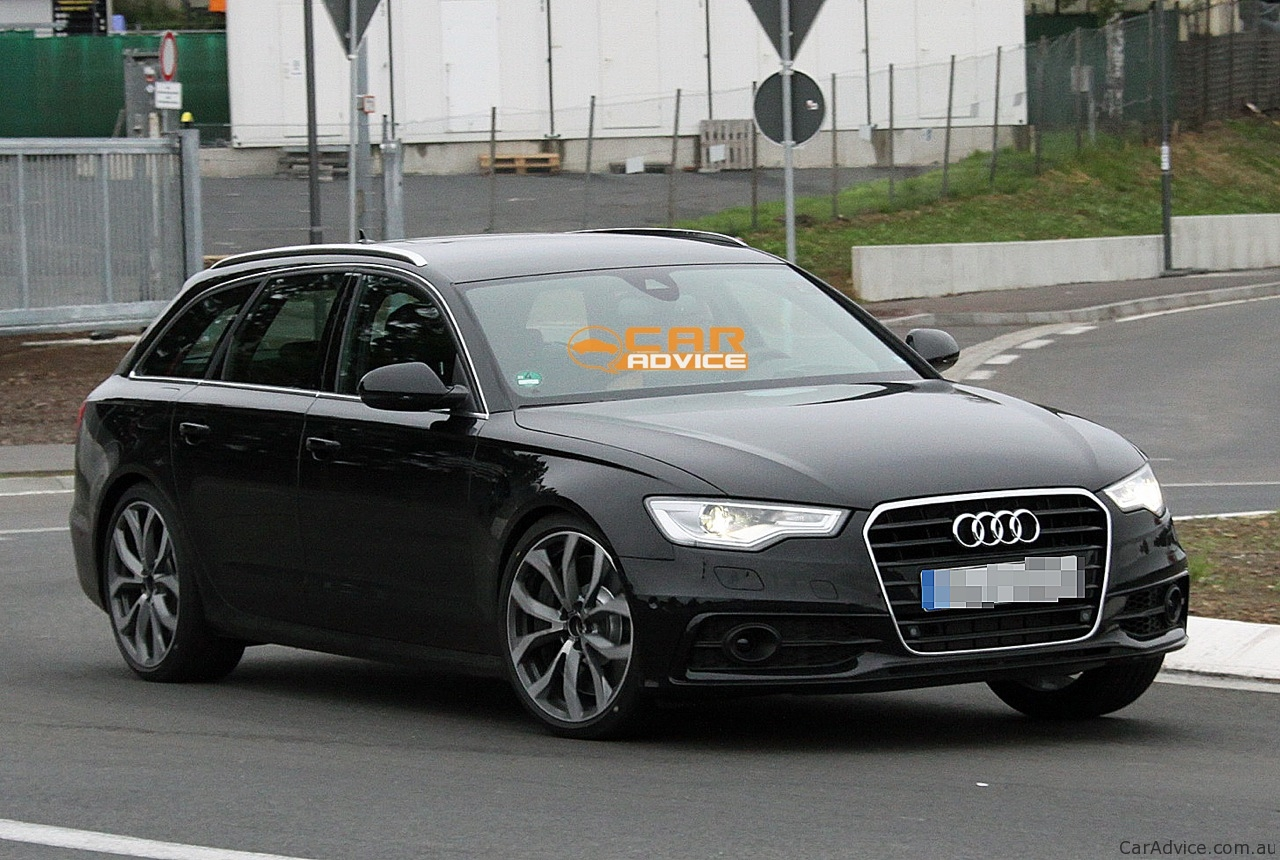 2012 audi s6 avant revealing spy shots photos 1 of 6. Black Bedroom Furniture Sets. Home Design Ideas