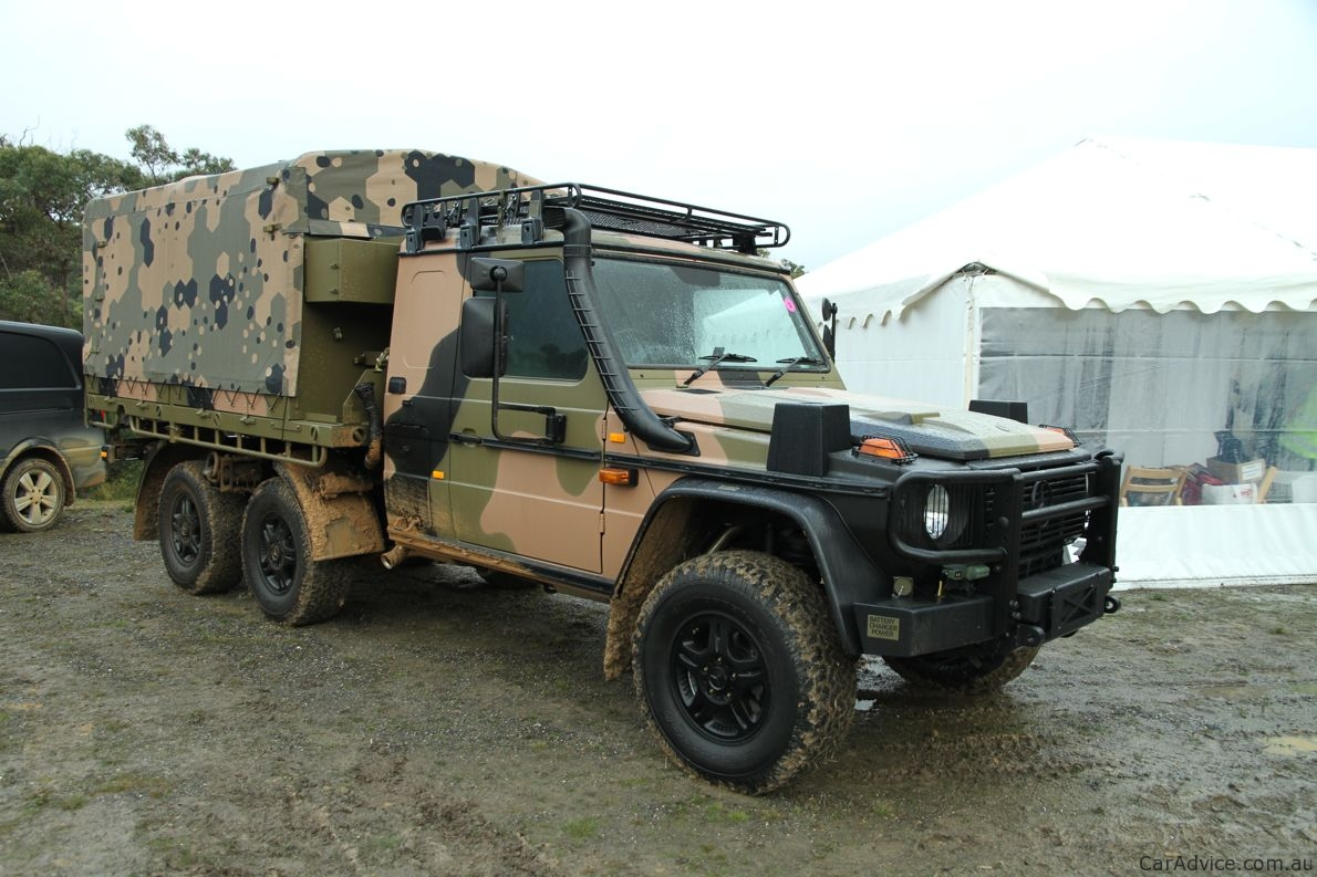 Mercedes Benz Armoured Vehicles Road Test Photos 1 Of 43