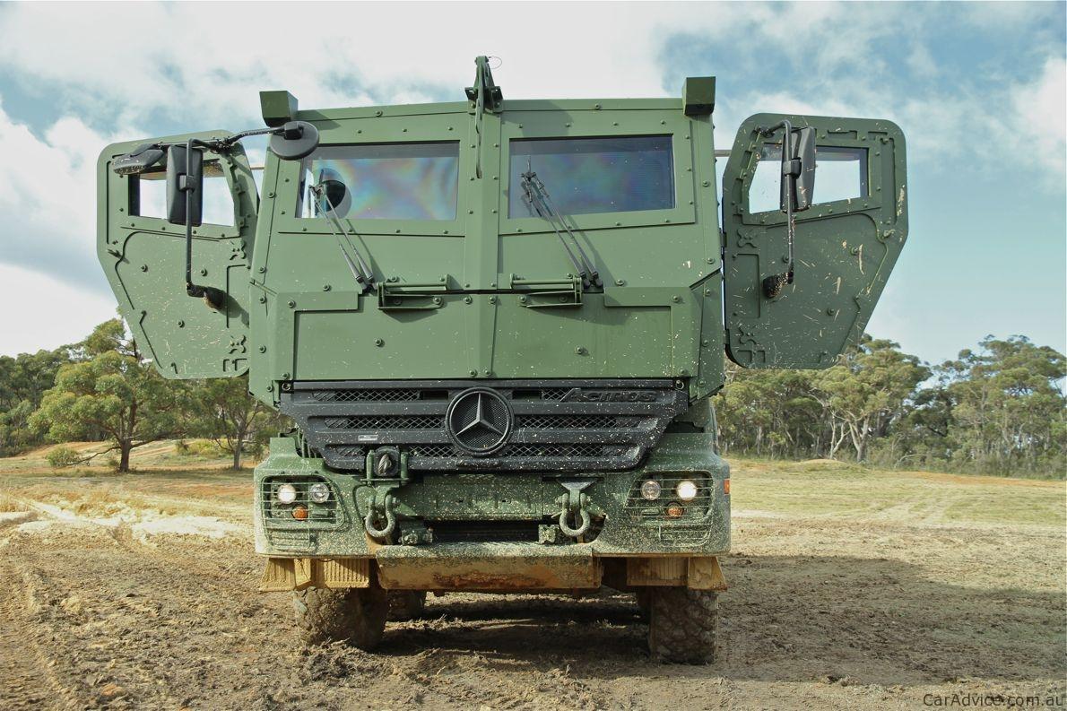 MercedesBenz Armoured Vehicles Road Test Photos Of - 1 million mercedes coolest armoured vehicle ever