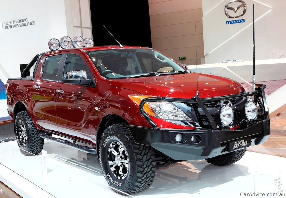 Mazda BT-50 available from launch with Australian-made ...