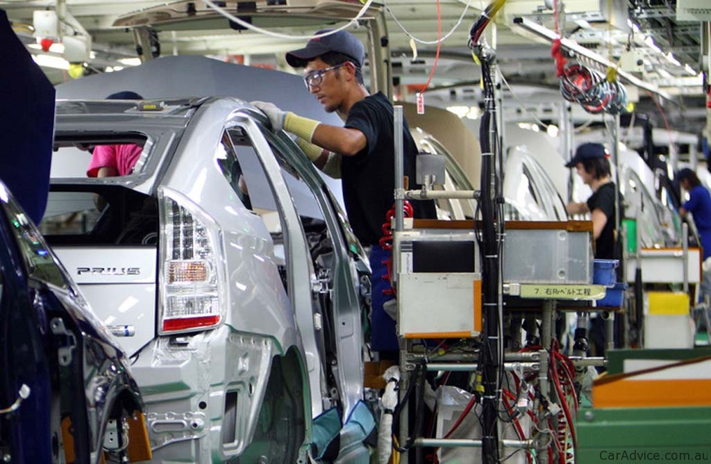 toyota has built a huge manufacturing company that can produce