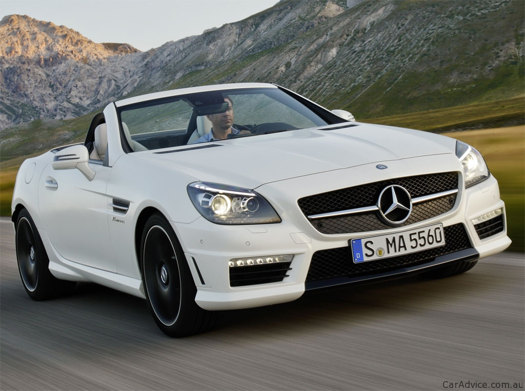 mercedes benz slk 200 350 review caradvice. Black Bedroom Furniture Sets. Home Design Ideas