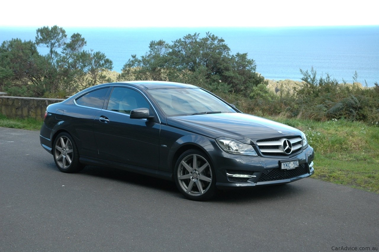 Mercedes benz c class coupe review caradvice for Mercedes benz c class 2011 price