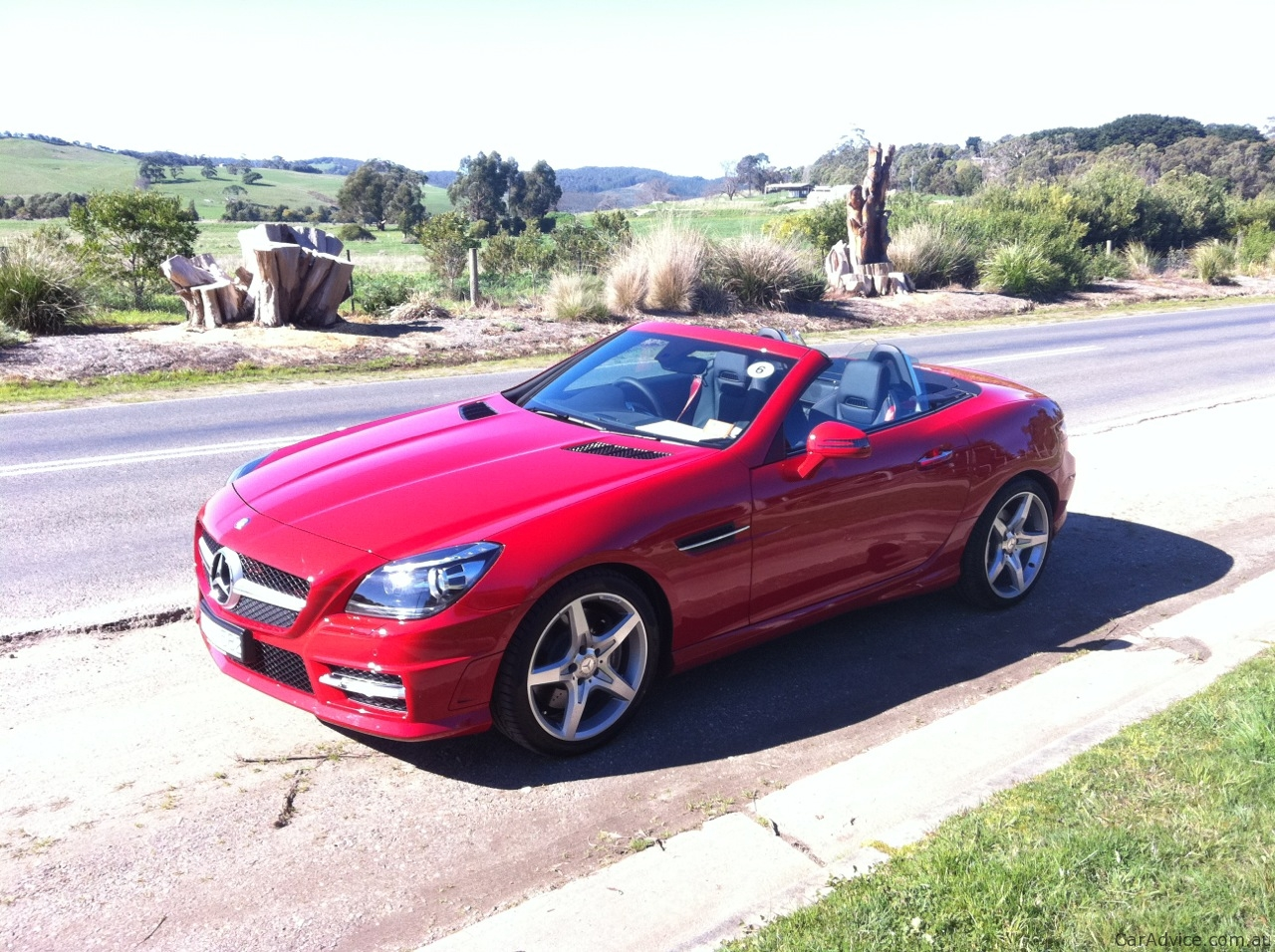 mercedes benz slk 200 350 review caradvice