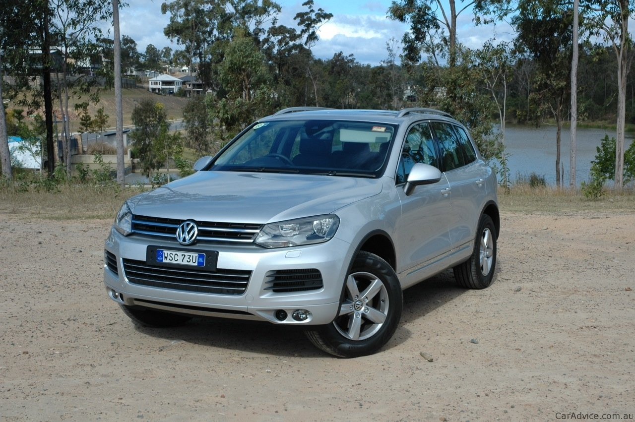 volkswagen touareg review caradvice. Black Bedroom Furniture Sets. Home Design Ideas