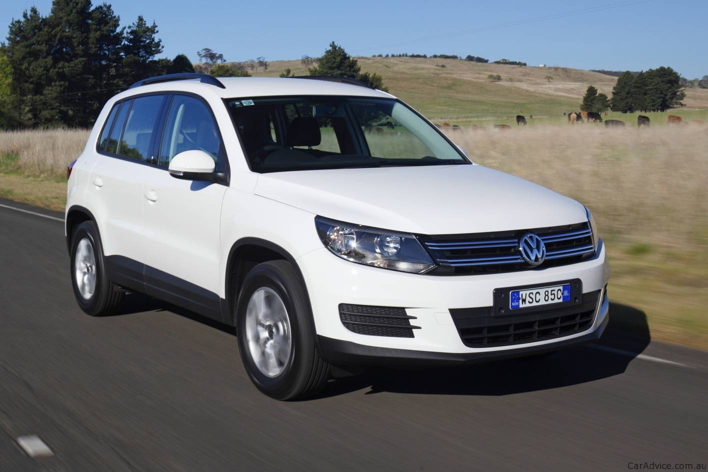2012 volkswagen tiguan facelift announced photos 1 of 14. Black Bedroom Furniture Sets. Home Design Ideas