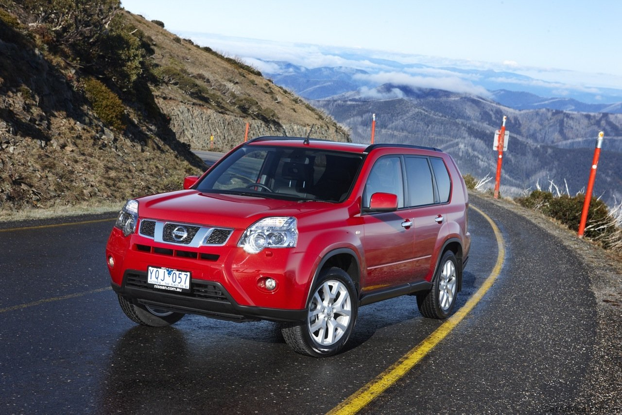Nissan X Trail Amp Pathfinder Off Road Review Caradvice