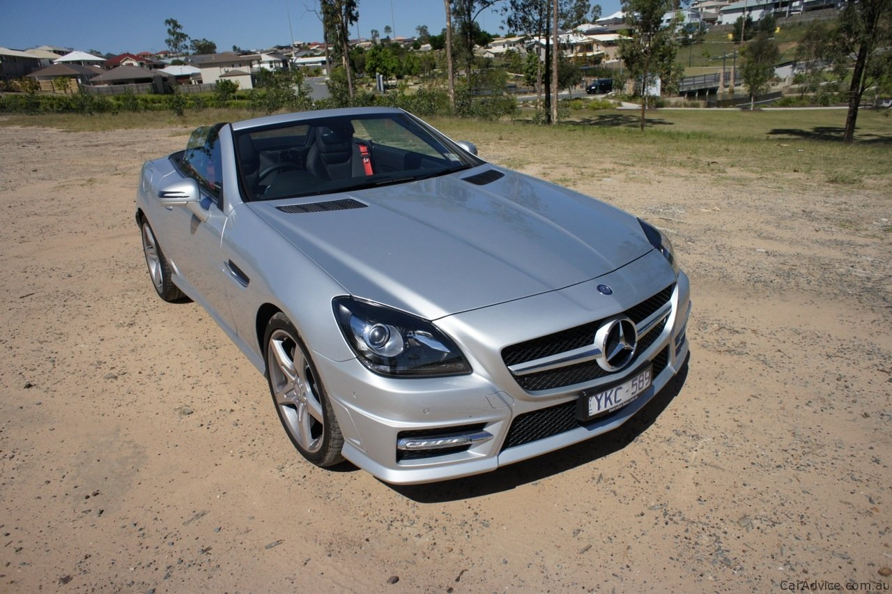 mercedes benz slk 200 review caradvice