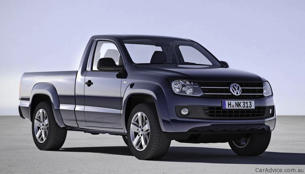 volkswagen amarok single cab, automatic coming to australia mid