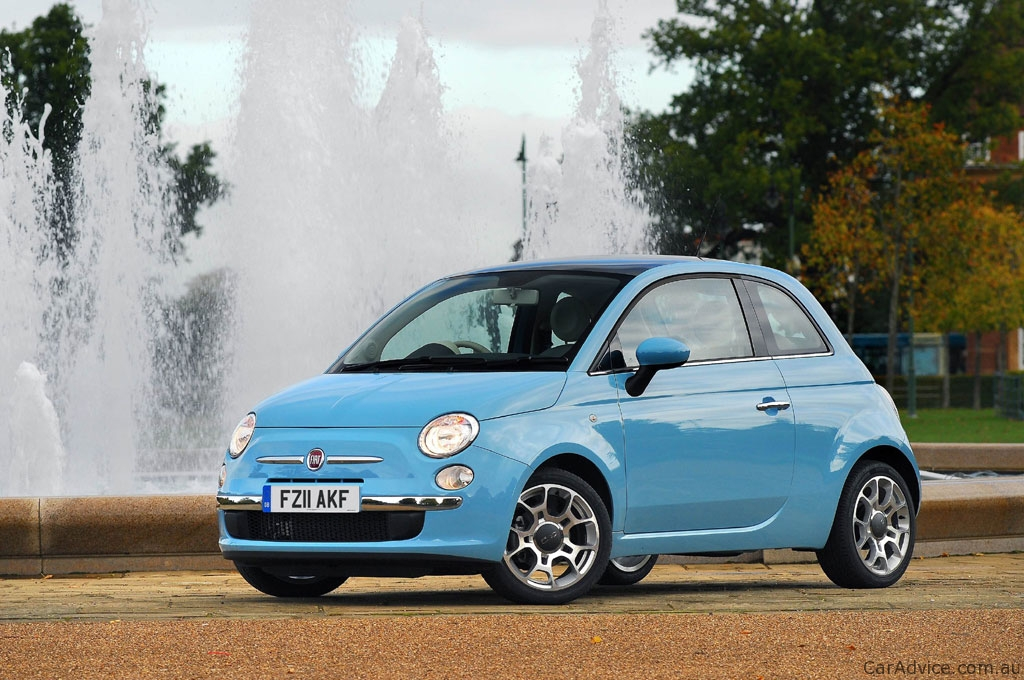 fiat 500 twinair two cylinder turbo here in 2012 photos. Black Bedroom Furniture Sets. Home Design Ideas