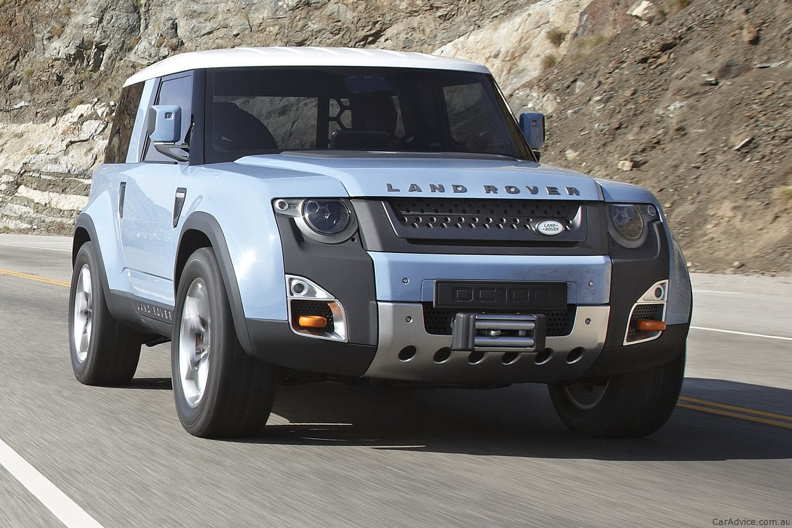 Land Rover DC100 concept revised with greater off-road ...